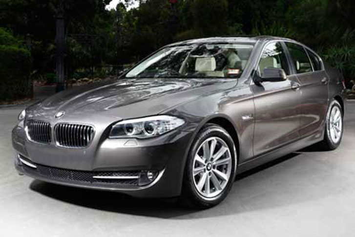 BMW 520i engine is small but full of forceBMW 520i engine is small but full of force